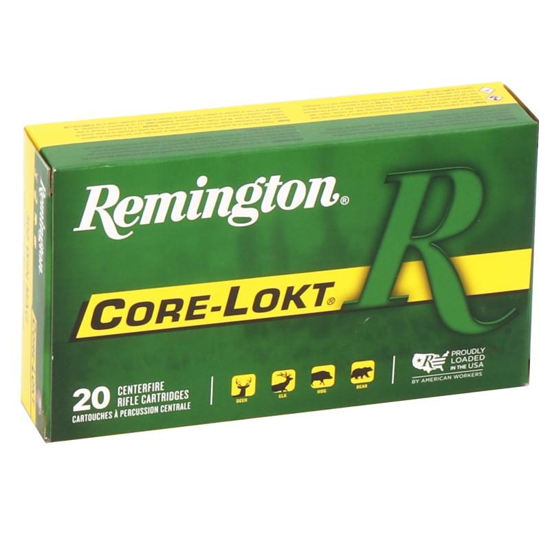 Remington Express 300 Winchester Magnum 180 Grain Core-Lokt PSP Soft Point Projectile