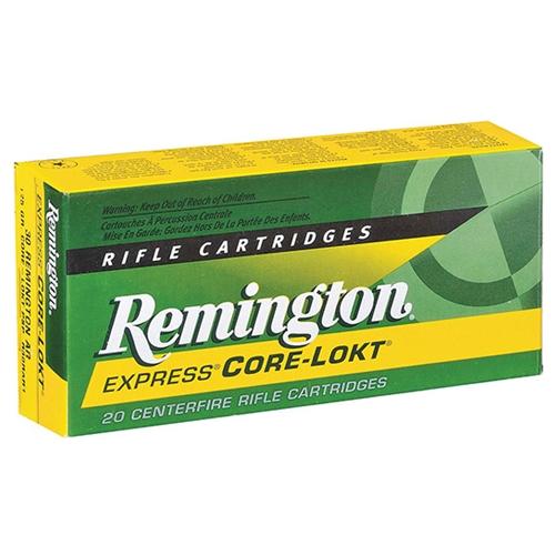 Remington Express 280 Remington Ammo 140 Grain Core-Lokt PSP Soft Point Projectile