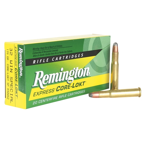 Remington Express 32 Winchester Special 170 Grain Core-Lokt SP