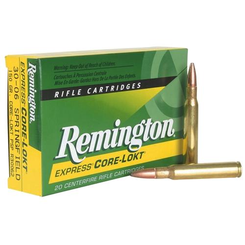 Remington Express 270 Winchester Short Magnum Ammo 130 Grain Core-Lokt PSP