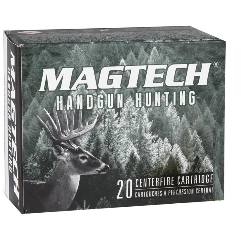 Magtech Sport 44 Remington Magnum Ammo 200 Grain Solid Copper Hollow Point