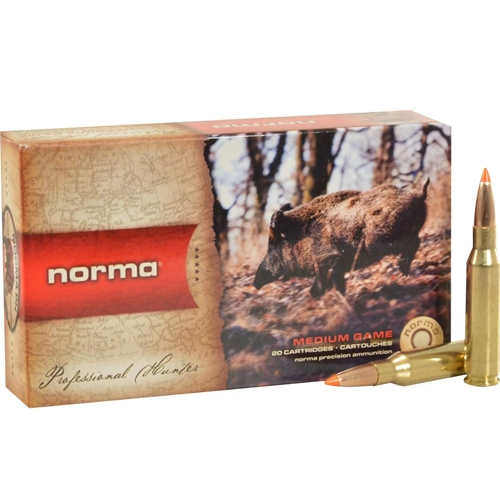 Norma USA TipStrike Ammo 308 Winchester  Ammo 170 Grain Polymer Tip Flat Base