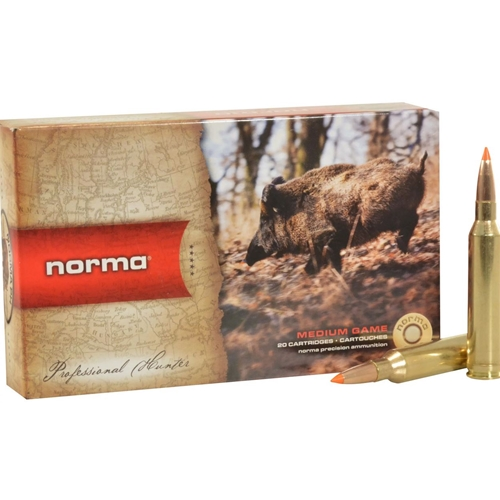Norma USA TipStrike 7mm Remington Magnum Ammo 160 Grain Polymer Tip Flat Base