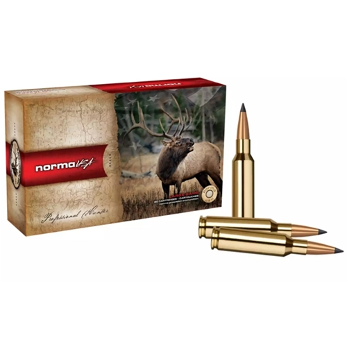 Norma USA American PH Ecostrike 7mm Remington Magnum Ammo 140 Grain Tipped Boat Tail Lead-Free