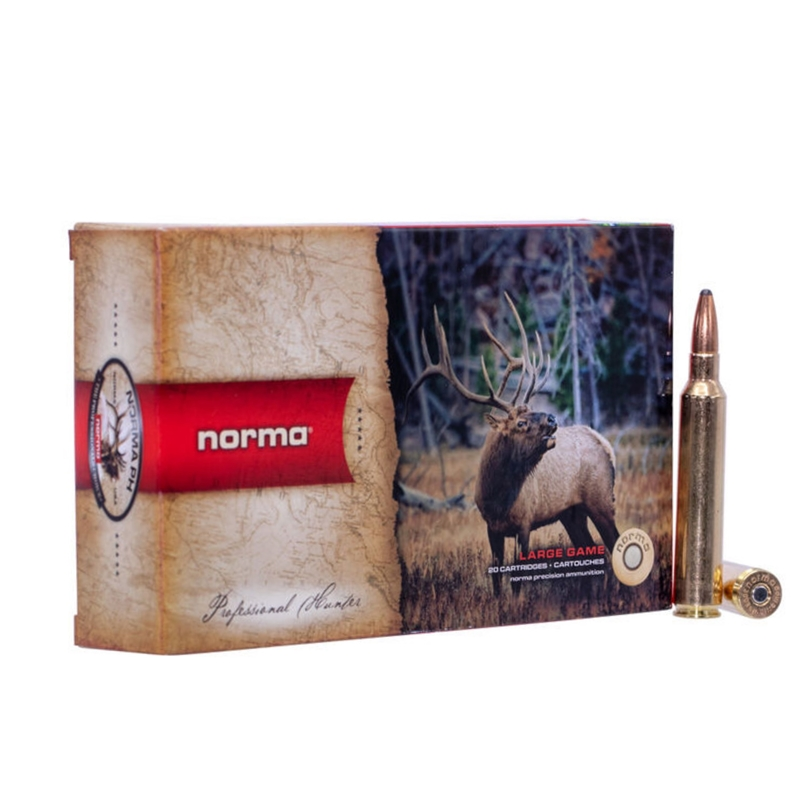 Norma USA American PH 300 Reminton Ultra Magnum Ammo 180 Grain Oryx Protected Point