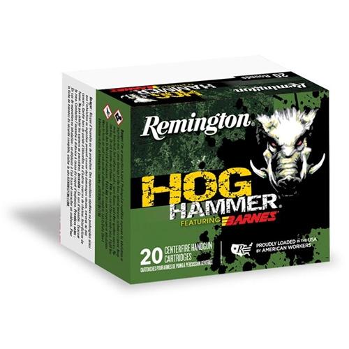 Remington Hog Hammer 41 Remington Magnum Ammo 180 Grain Barnes XPB