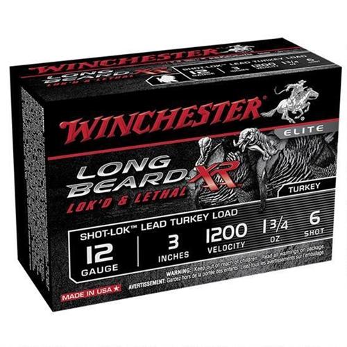 """Winchester Long Beard XR 12 Gauge 3"""" 1.75 oz. #5 Lead Shot"""