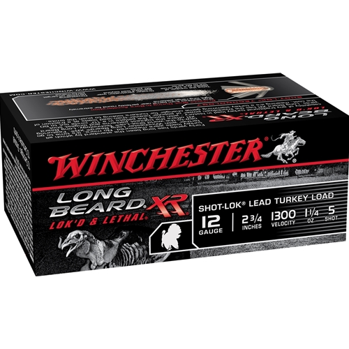 "Winchester Long Beard XR 12 Gauge 2 3/4"" 1.25 oz. #5 Lead Shot"