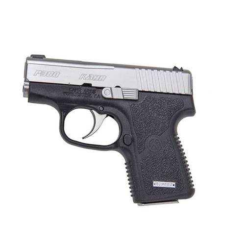 "Kahr Arms P380 Handgun 380 ACP Auto 2.5"" Barrel 6+1 Rounds Black with Stainless Slide"