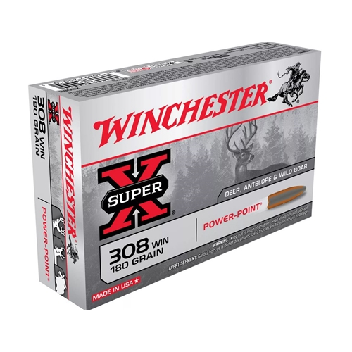 Winchester Super-X 308 Winchester 180 Grain Power-Point