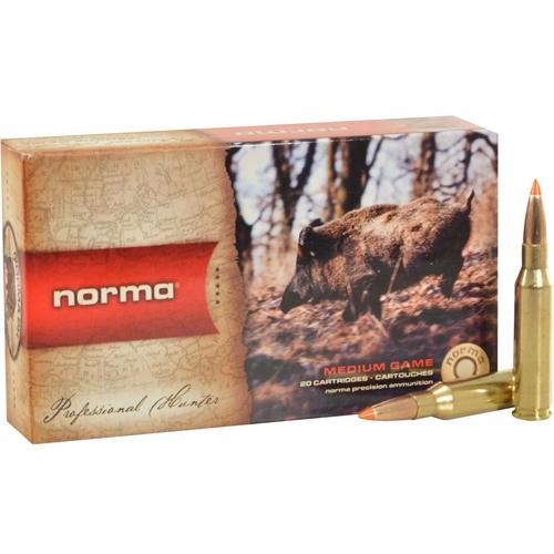 Norma USA TipStrike 243 Winchester Ammo 76 Grain Polymer Tip Flat Base