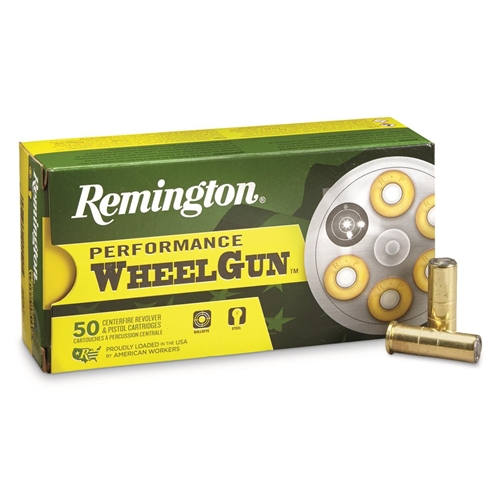 Remington Performance Wheelgun 38 Special Ammo 148 Grain Targetmaster Lead WC