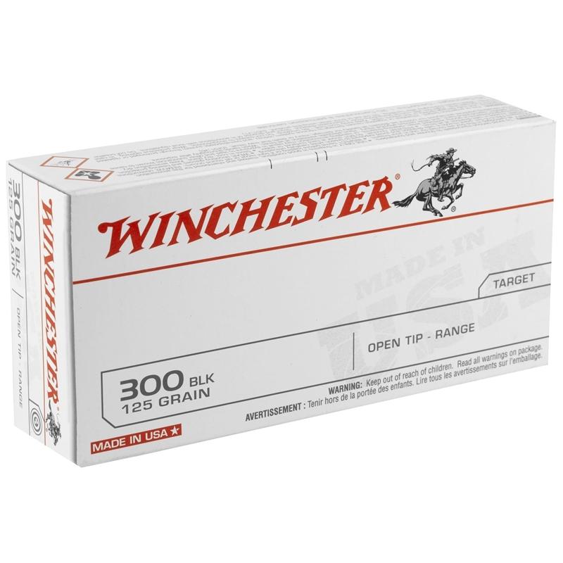 Winchester USA Target 300 AAC Blackout Ammo 125 Grain OT