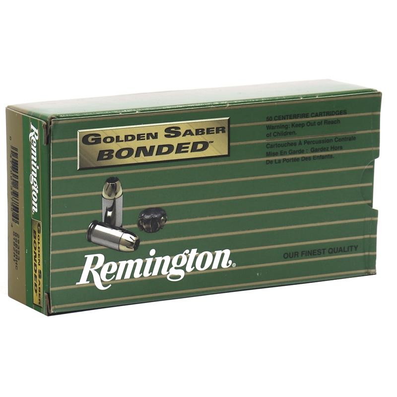 Remington Golden Saber Bonded 9mm Luger Ammo 147 Grain BJHP