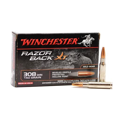 Winchester Razorback  308 Winchester Ammo 150 Grain BPPHP