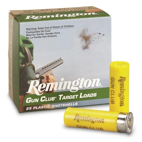 """Remington Gun Club Target 20 Gauge Ammo 2 3/4"""" 7/8oz. #9 Shot"""