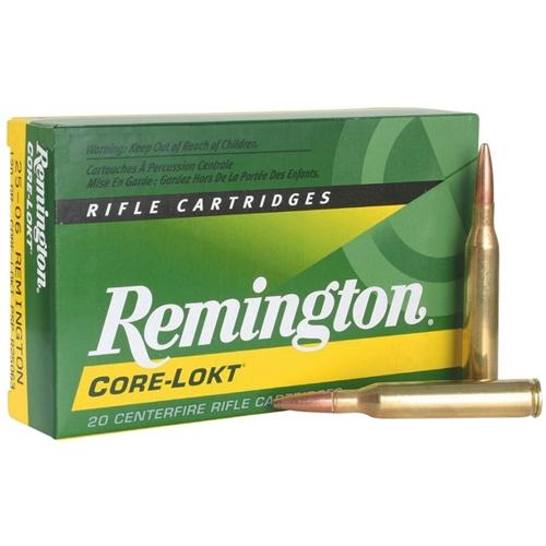 Remington Express 25-06 Remington 120 Grain Core-Lokt Pointed Soft Point