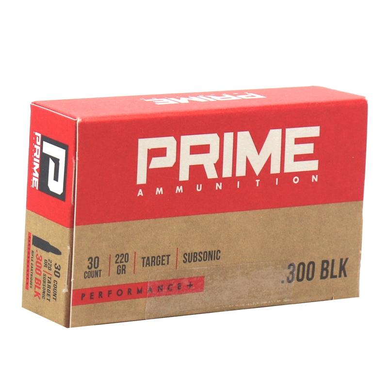 Prime Ammunition 300 Blackout Ammo 220 Grain Performance +