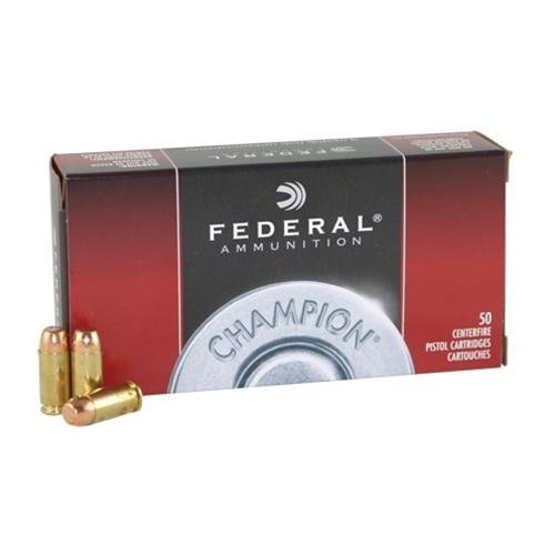 Federal Champion Target 40 S&W Ammo 180 Grain Full Metal Jacket