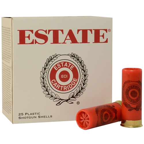 """Estate Cartridge 12 Gauge Ammo 2 3/4"""" 1-1/8oz #7.5 Shot"""