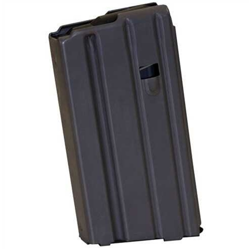 Brownells AR15/M16 223 Remington/5.56 NATO Magazine 20 Rounds Chrome Silicone Spring