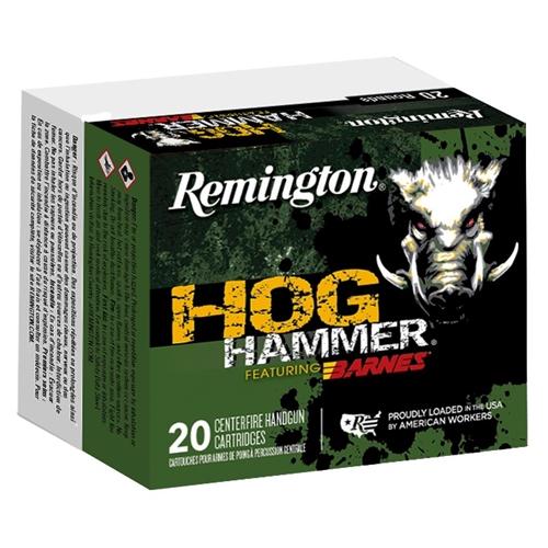 Remington Hog Hammer 10mm Auto Ammo 155 Grain Barnes XPB