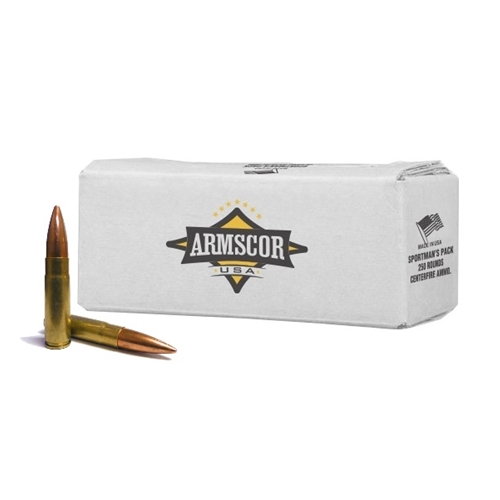 Armscor USA Sportsman's Pack  300 AAC Ammo 147 Grain Full Metal Jacket 250 Rounds