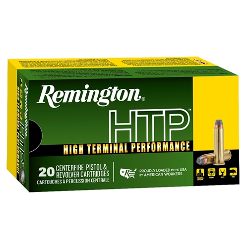 Remington HTP 38 Special Ammo +P 110 Grain Semi-Jacketed Hollow Point