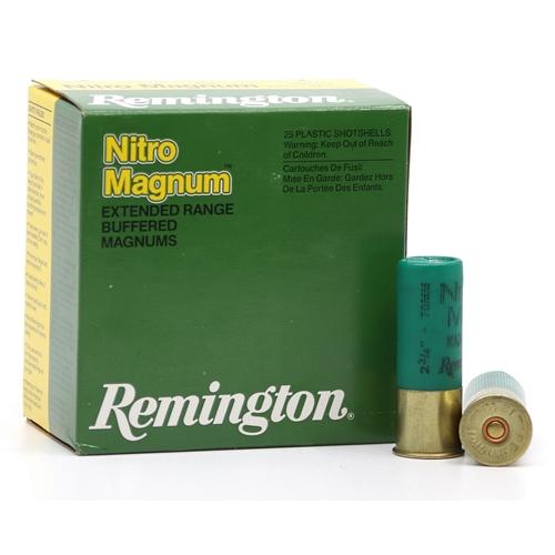 "Remington Nitro Magnum 12 Gauge Ammo 2-3/4""1-1/2 oz #2 Lead Shot"