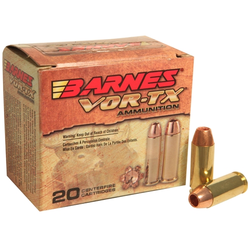 Barnes VOR-TX 10mm Ammo 155 Grain XPB Hollow Point Lead-Free