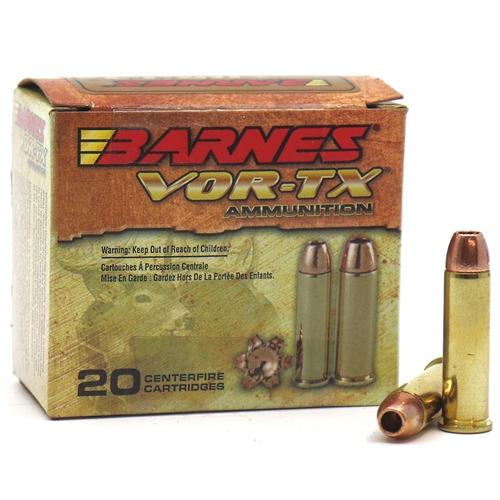 Barnes VOR-TX 357 Magnum Ammo 140 Grain XPB HP