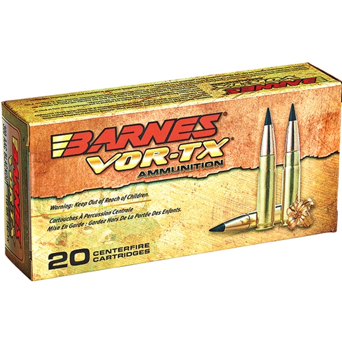 Barnes VOR-TX 300 AAC Blackout Ammo 120 Grain TAC-TX Polymer Tipped Spitzer Boat Tail