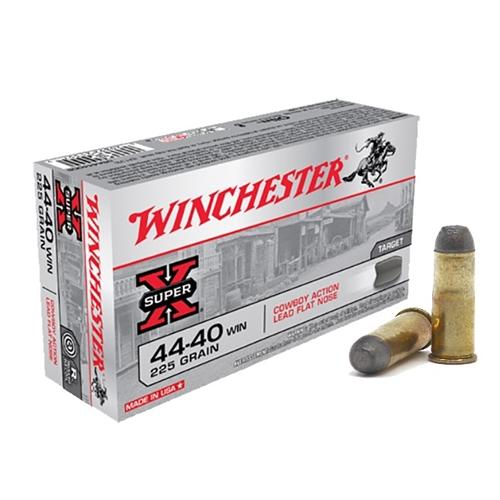 Winchester Super-X Cowboy 44-40 Winchester 225 Grain Lead Flat Nose