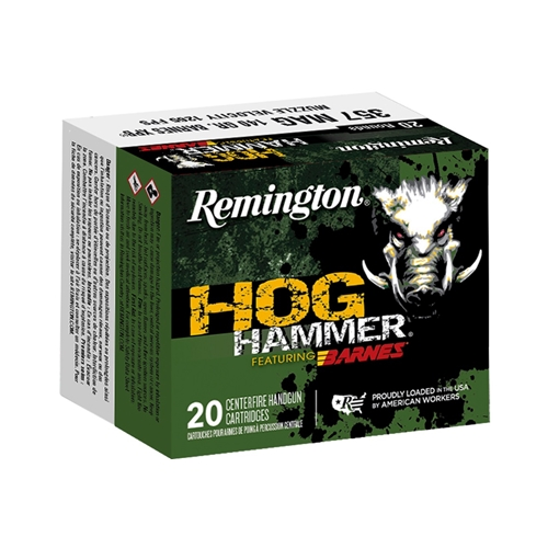 Remington Hog Hammer 357 Mag 140 Grain Barnes XPB