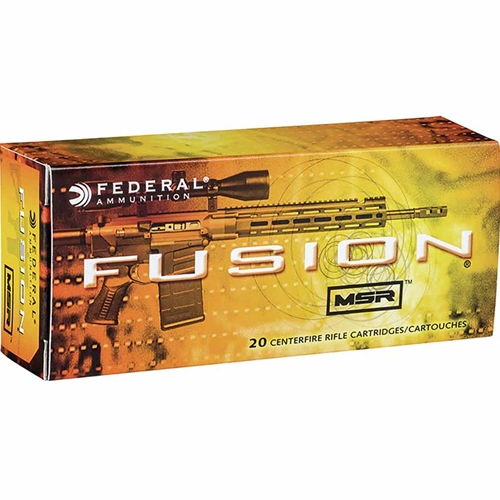 Federal Fusion MSR 338 Federal Ammo 185 Grain Soft Point