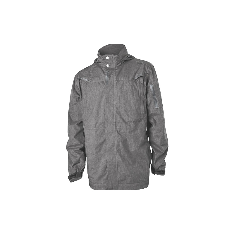 BlackHawk Fortify Jacket Waterproof - Black Heather/Grey