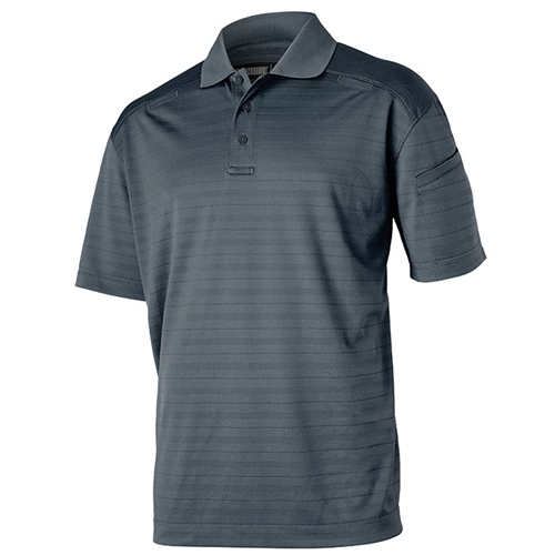 BlackHawk Cool React Polo in Steel