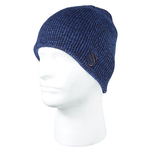 BlackHawk Marled Beanie in Admiral Blue