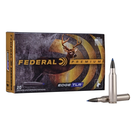 Federal 280 Ackley Improved Ammo 155 Grain Edge TLR