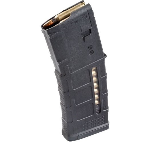 Magpul PMAG Gen M3 with Window AR/M4 5.56x45 NATO/.223 Remington Magazine 30 Rounds Black