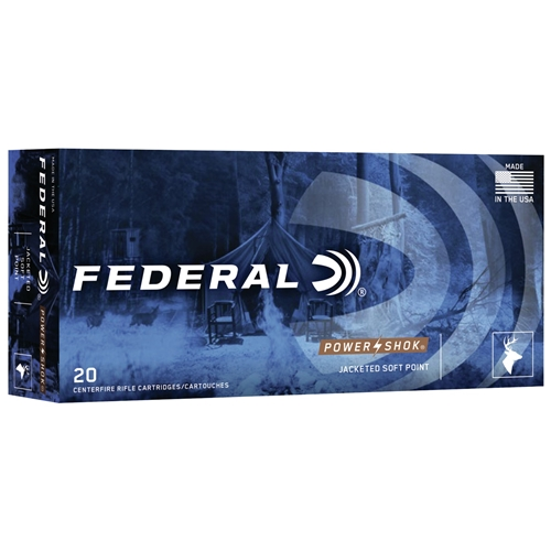 Federal Power-Shok 300 AAC Blackout Ammo 150 Grain Jacketed Soft Point