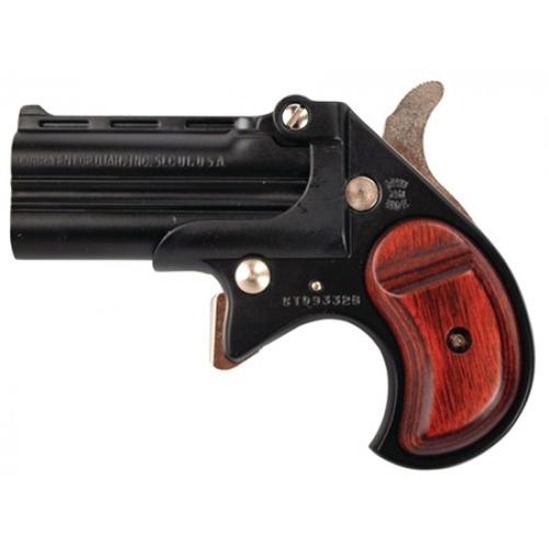 Cobra Firearms CB9BR 9mm Luger Derringer 2 Rounds Alloy Frame Rosewood Grips