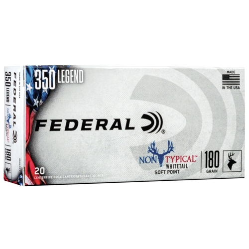 Federal Non-Typical 350 Legend 180 Grain Soft Point