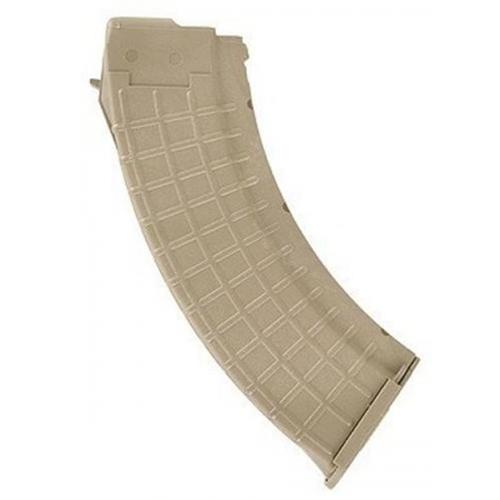 ProMag AK-47 7.62x39mm Magazine 30 Rounds Tan Polymer