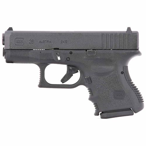 Glock G26 Gen3 9mm Luger Semi-Auto 10 Rds