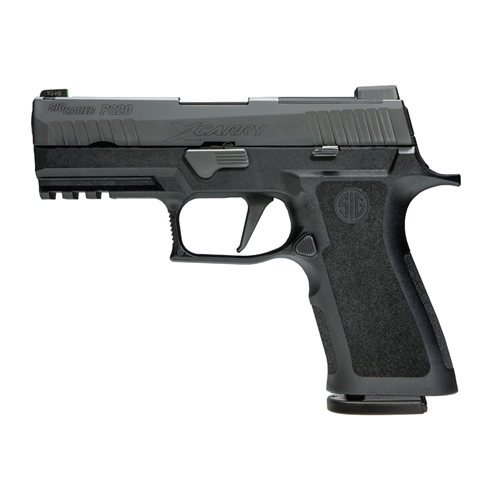 "Sig Sauer P320 X-Carry 9mm Luger Semi-Auto 17+1 Rounds 3.9"" Barrel Nitron Finish"