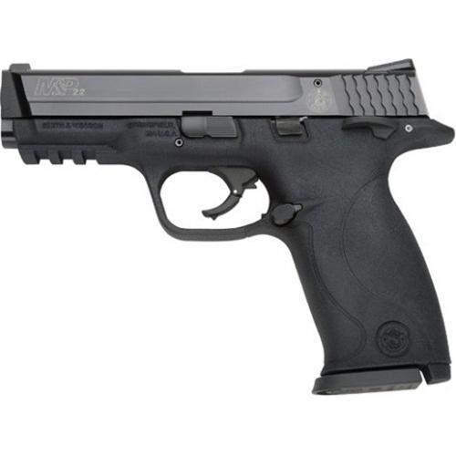 """Smith & Wesson M&P22 Semi-Auto Handgun 22 LR 4.1"""" Barrel 12 +1 Rounds Black"""