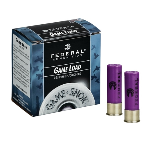 "Federal Game-Shok Upland-Game 16 Gauge Ammo 2-3/4"" 1 oz #8 shot"