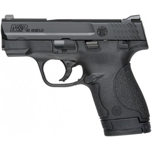 """S&W M&P40 Shield Semi-Auto Handgun 40 S&W 3.1"""" Barrel 6+1 Rounds Black"""