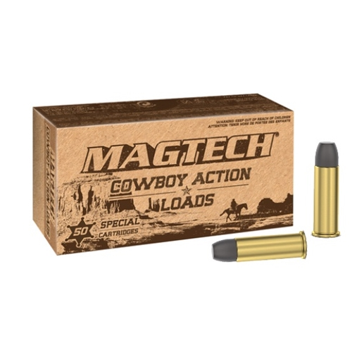 Magtech Cowboy Action 38 Special Ammo 158 Grain Lead Flat Nose